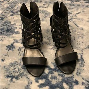 Vintage Jeffrey Campbell kitten heels.